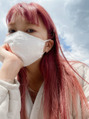 ピンクヘアの色落ち☆難波