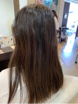 細毛で軟毛の方のペタンとならない縮毛矯正_20190611_2