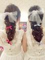 夏イベント(*´▽`*)可愛くヘアセットも!