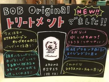 BOB オリジナルシャンプー ・トリートメント始動_20160509_3