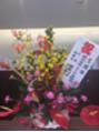 お花を頂きました!