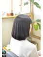 面接仕様のヘアスタイル