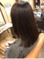 うる艶縮毛矯正とTOKIOトリートメント