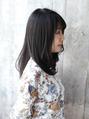 ☆髪質改善!弱酸性カラーで暗髪☆
