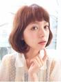 コスメパーマスタイル¥6500(カット+パーマ)