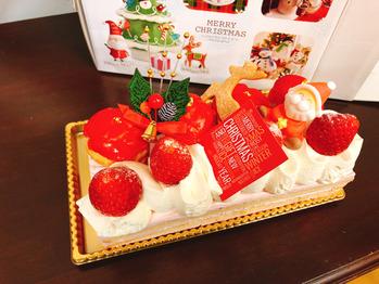 クリスマスケーキ☆_20171223_1