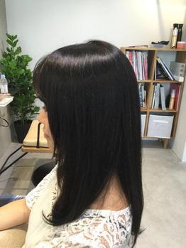 艶カラーは深めなブラウンで「笠井」_20171006_1