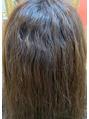 髪質改善サロンの縮毛矯正!