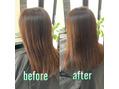 美髪改善施術事例