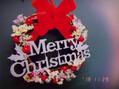 クリスマスに向け準備万端★手作りクリスマスリース