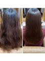 髪質改善カット&トリートメント 乾かすだけ!!