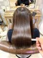 【大好評の髪質改善&カラー♪】
