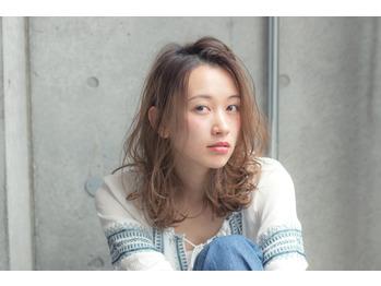 【Belle 吉祥寺】こなれカールな大人カジュアルミディ_20171104_2