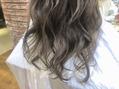 スピンヘアフラッフィ(Spin hair fluffy)夏にぴったりハイトーンカラー★