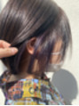 インナーカラー★パープル