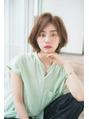 ジョエミバイアンアミ(joemi by Un ami)根元ふんわり前髪長めのショートスタイル