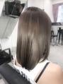 ☆ミネコラTr+イルミナカラーで最高のツヤサラ髪に!