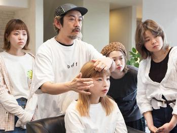 SUNVALLEYの朝日さんによるヘアメイク講習_20190409_3