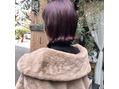 *秋冬color*ボルドーカラー。
