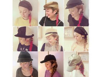 私の好きな帽子たち☆★_20190727_1