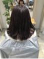 宝塚 小林 美容室 ☆ 卒業カラー