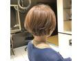 ミック ヘアアンドメイクアップ 日暮里店(miq Hair&Make up)【大人ショート&ボブ】大人可愛いショートボブ