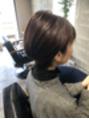 大人女性 ハンサムショート 奈良市 美容室