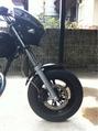昔のバイクの写真