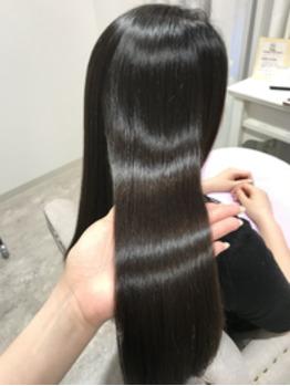 髪質改善縮毛矯正で初めてご来店のお客様♪_20180425_2