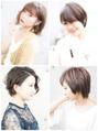 夏のヘアスタイル、ヘアカラー