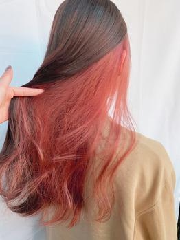 艶ピンク**インナーカラー_20210224_1