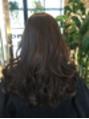 カラーしながら髪の修復!