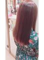 ☆毛先まで艶の出る髪へ☆カラー&トリートメント☆
