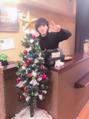 クリスマスツリー設置!