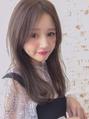 ◆アッシュcolorの透明感で髪を柔らかく見せましょ◆
