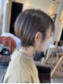 ショートヘア♪