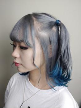 【TAKUTO】Silver☆裾カラーblue_20200815_1