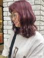 【Yuki】レイヤースタイル と 前髪のバランス