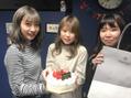 誕生日を祝って頂きありがとうございます。