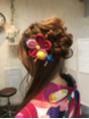 袴のヘアセット♪