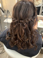卒業式ヘア☆髪の毛でリボン