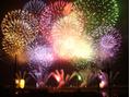 大阪の花火大会!