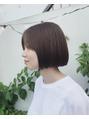 HAIR:ぱつっとボブ