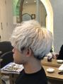 ホワイトヘアー × アイロンセット