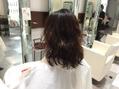 本日のお客様☆かかりにくい髪にパーマ