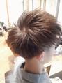 バージン毛(黒髪)からのベージュ系カラー
