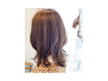 お客様hair♪ Forest beige_20210409_2