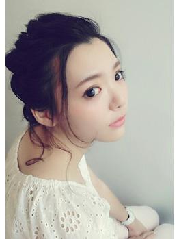 暗めの髪色でもふんわりアレンジ★_20160622_2
