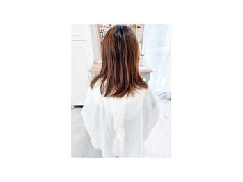 お客様hair♪ Forest beige_20210409_3