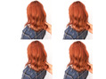 オレンジブラウンカラー